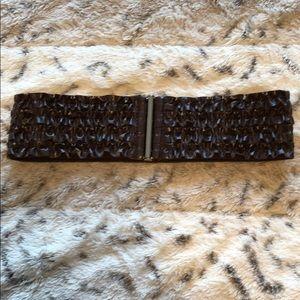 Accessories - Ruffle elastic belt